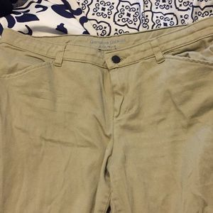 Relaxed fit dickies khakis